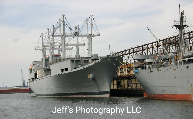 Aviation Logistics Support Container Ship SS Wright T-AVB-3