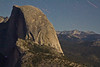 Half Dome, Half Lit - Shot From Glacier Point, Yosemite National Park, California, USA