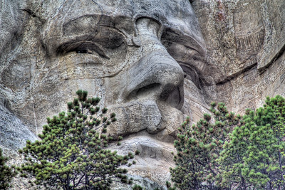 Teddy Roosevelt - Mount Rushmore National Memorial, South Dakota, USA