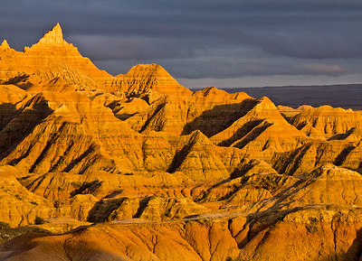 White River Valley Overlook, Badlands National Park, South Dakota, USA