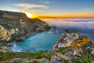 Potato Harbor, Channel Islands National Park, California, USA