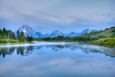 Oxbow Bend, Grand Tetons, Wyoming, USA
