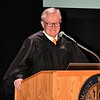 The Honorable Timothy S. Hillman administered the Oath of Admission to the New Citizens.<br /> Sentinel & Enterprise / Jim Fay