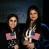 New US Citizens, Poonam Rijhsinghani and Kajal Kavshik.<br /> Sentinel & Enterprise / Jim Fay