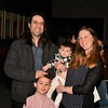 New US Citizen David Carmona with his Family, Rafe, Alba and Joanna Carmona.<br /> Sentinel & Enterprise / Jim Fay
