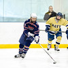 USNA Women's Hockey vs Liberty at the Brigade Sports Complex  in Annapolis, Maryland on 1/21/2017. (Photo by Michael McSweeney/USA Warriors).