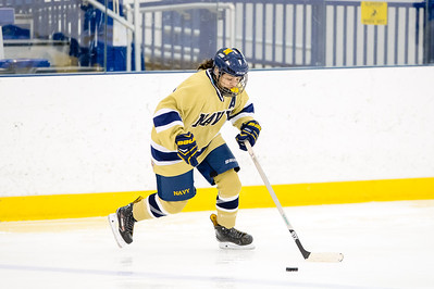 USNA Women's Hockey vs Delaware at the Brigade Sports Complex  in Annapolis, Maryland on 12/3/2016. (Photo by Michael McSweeney/USA Warriors).