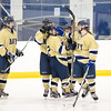 USNA Women's Hockey vs Rowan during the inaugural Crab Pot Tournament at the McMullen Hockey Arena in Annapolis, Maryland on 2/24/2018. (Photo by Michael McSweeney for USNA).