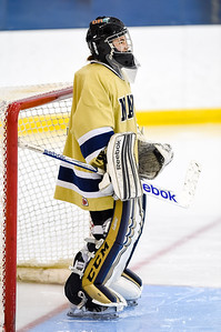USNA Women's Hockey vs Delaware at the Brigade Sports Complex  in Annapolis, Maryland on 12/4/2016. (Photo by Michael McSweeney/USA Warriors).