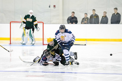 USNA Men's D2 vs GMU at the McMullen Hockey Arena in Annapolis, Maryland on 10/1/2017. (Photo: Michael McSweeney for USNA).