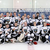The USNA Men's D2, Citadel, USCGA Hockey Teams during the Service Leaders Of Tomorrow tournament at the Brigade Sports Complex in Annapolis, Maryland on 1/15/2017. (Photo by Michael McSweeney/USA Warriors).