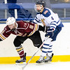 USNA Men's D2 Hockey vs Elon at the Brigade Sports Complex  in Annapolis, Maryland on 12/3/2016. (Photo by Michael McSweeney/USA Warriors).