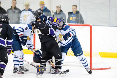 USNA Men's D2 vs James Madison at the McMullen Hockey Arena in Annapolis, Maryland on 12/1/2017. (Photo: Michael McSweeney for USNA).