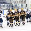 USNA Men's D2 vs Rowan at the McMullen Hockey Arena in Annapolis, Maryland on 12/3/2017. (Photo: Michael McSweeney for USNA).