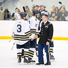 USNA Men's Hockey vs Army at the McMullen Hockey Arena in Annapolis, Maryland on 1/12/2018. (Photo by Michael McSweeney for USNA).