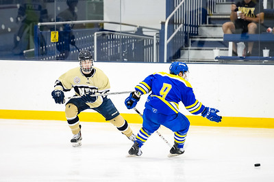 USNA Men's Hockey vs Delaware at the McMullen Hockey Arena in Annapolis, Maryland on 10/6/2017. (Photo by Michael McSweeney for USNA).