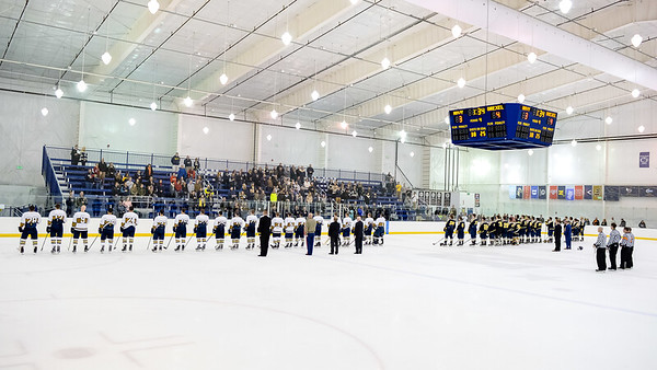 USNA Men's Hockey vs Drexel at the Brigade Sports Complex  in Annapolis, Maryland on 11/11/2016. (Photo by Michael McSweeney/USA Warriors).