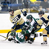 USNA Men's Hockey vs Michigan State at the Brigade Sports Complex  in Annapolis, Maryland on 12/2/2016. (Photo by Michael McSweeney/USA Warriors).