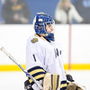 USNA Men's Hockey vs Maryland during the 2018 Crab Pot Tournament at the McMullen Ice Arena in Annapolis, Maryland on 2/10/2018. (Photo: Michael McSweeney for USNA).