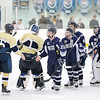 USNA Men's Hockey vs Penn State Berks at the McMullen Hockey Arena in Annapolis, Maryland on 1/13/2018. (Photo by Michael McSweeney for USNA).