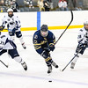USNA Men's Hockey vs Penn State Berks at the Brigade Sports Complex  in Annapolis, Maryland on 1/13/2017. (Photo by Michael McSweeney/USA Warriors).