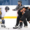 USNA Men's Hockey vs RIT at the McMullen Hockey Arena in Annapolis, Maryland on 11/11/2017. (Photo by Michael McSweeney for USNA).