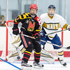 USNA Men's Hockey vs UM Terps at the Gardens Ice House in Laurel, Maryland on 9/17/2017. (Photo by Michael McSweeney for USNA).