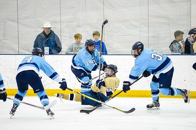 USNA Men's Hockey vs URI at the Brigade Sports Complex  in Annapolis, Maryland on 11/19/2016. (Photo by Michael McSweeney/USA Warriors).