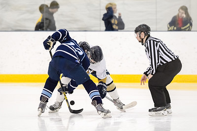USNA Men's Hockey vs Villanova at the McMullen Hockey Arena in Annapolis, Maryland on 11/18/2017. (Photo by Michael McSweeney for USNA).