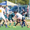 USNA Men's Rugby 2nd XV vs Dartmouth 2nd XV at the Prusmack Rugby Complex - Ernie Blake Field II in Annapolis, Maryland on 2/17/2018. (Photo: Michael McSweeney for USNA).