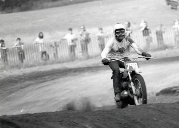 1971 - Navy - Maine  - Moto Cross - Steve Naylor