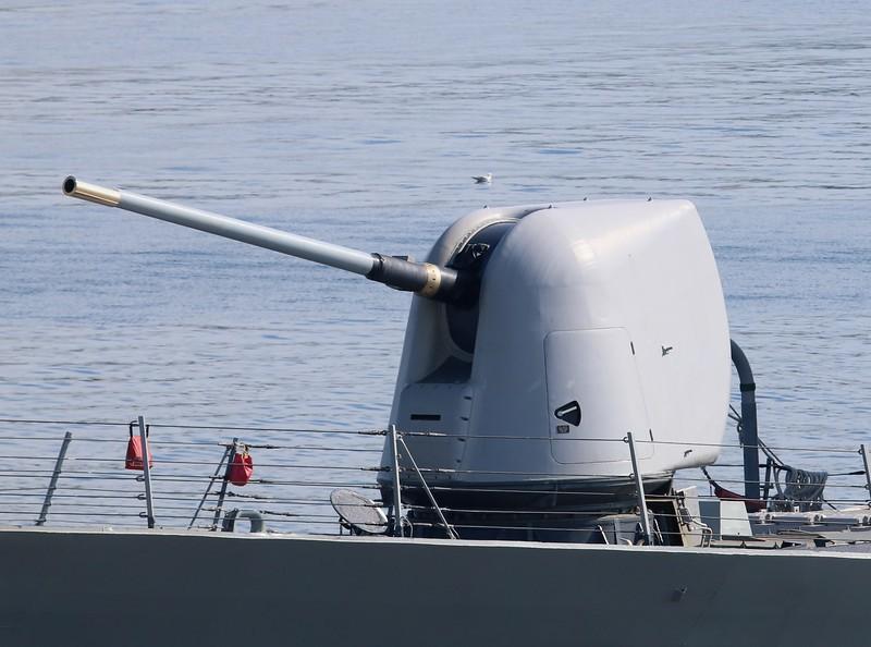 Mark 45 - 5x54in turret