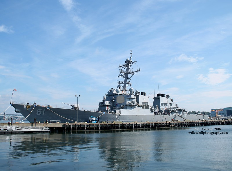 DDG-61 at Pier 7 - New London, CT