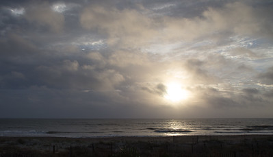 Clouds and Light, Pawley's Island, December 2015