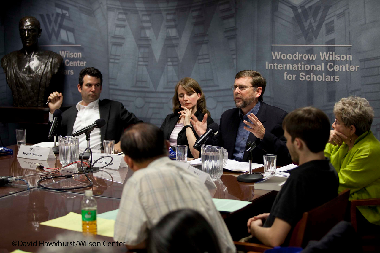 Book Discussion: The European Way for America?<br /> <br /> Speaker(s): Steven Hill, Kimberly Morgan, Mitchell Orenstein