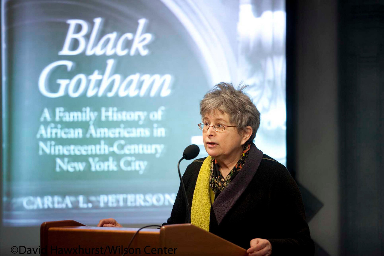 Book Discussion: Black Gotham: A Family History of African Americans in Nineteenth-Century New York City<br /> <br /> Speaker(s): Carla Peterson, Mary Ryan, Adele Alexander