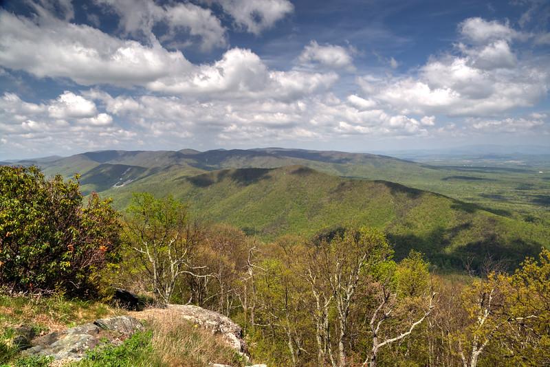Blue Ridge Parkway in Virginia