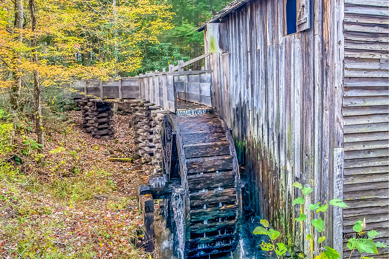 Mill in Cades Cove, Great Smoky Mountain National Park