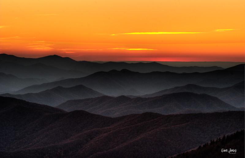 After Sunset, Great Smoky Mountain National Park