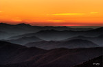 After Sunset, Great Smoky Mountain National Park