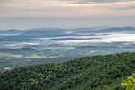 Foggy Morning on the Blue Ridge parkway