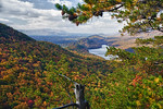 View from Appalachian Trail on Tinker Mountain toward Carvin's Cove