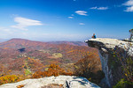 McAfee's knob looking toward Daleville and Tinker Mountain, Appalachian Trail