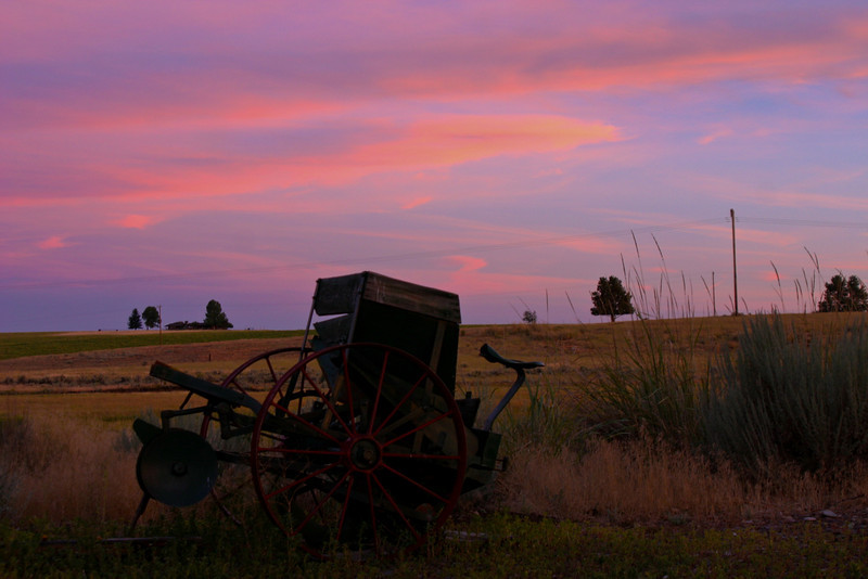 Farm Equipment Nightfall
