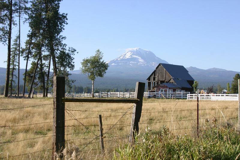 Barn, Mt. Adams