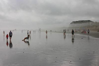 Townsend Inlet Fog
