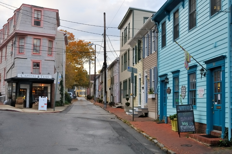 Fleet Street - Annapolis, Maryland