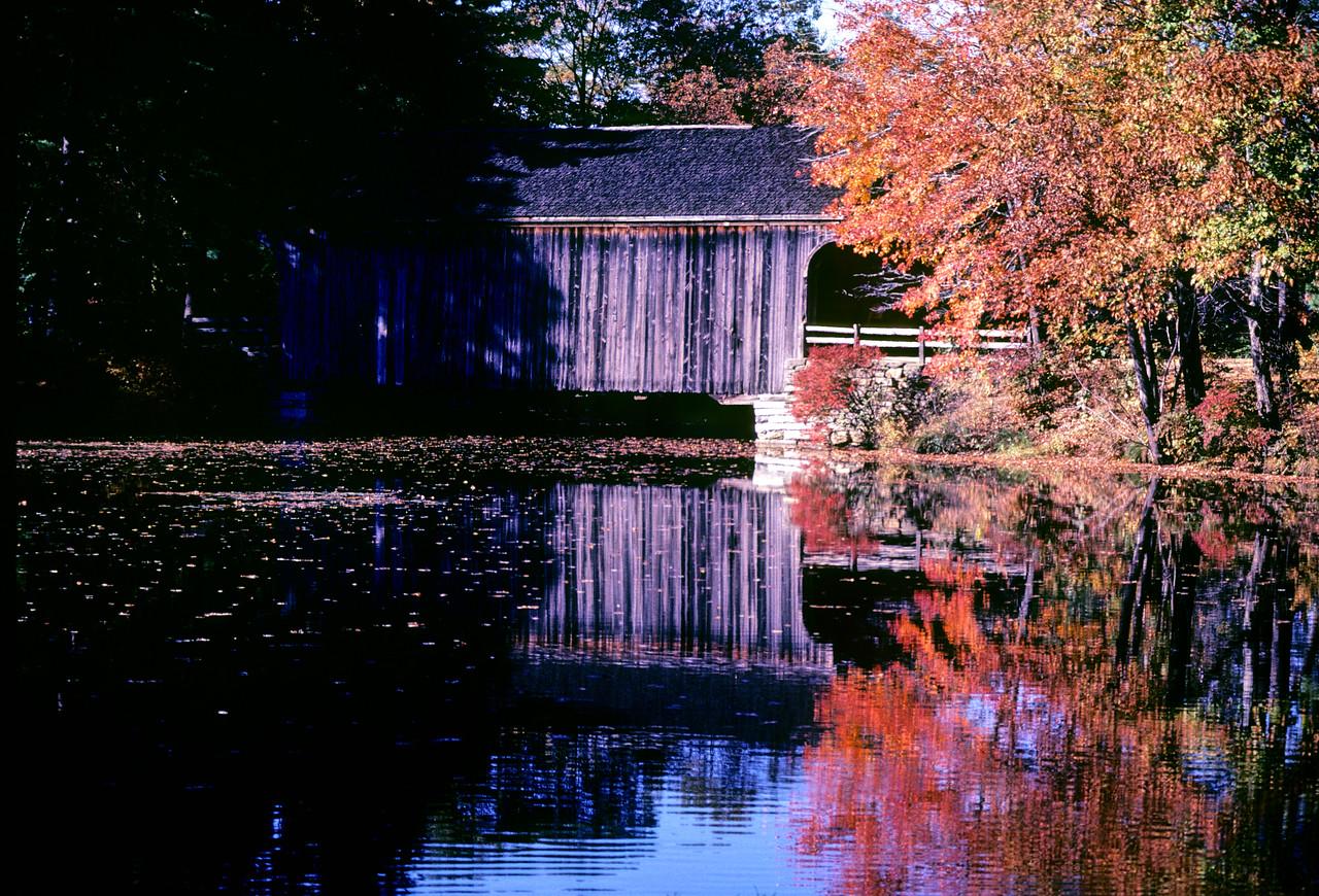 Sturbridge covered bridge - Sturbridge, Massachusetts