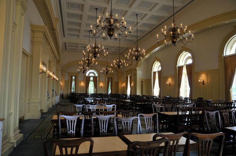 Spangler Hall dining room - HBS - Boston, Massachusetts