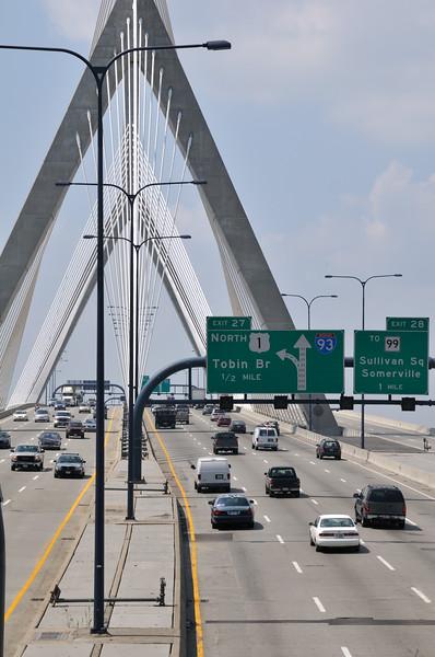 I-93 bridge - Boston, MA